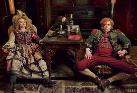Sacha Baron Cohen and Helena Bonham Carter