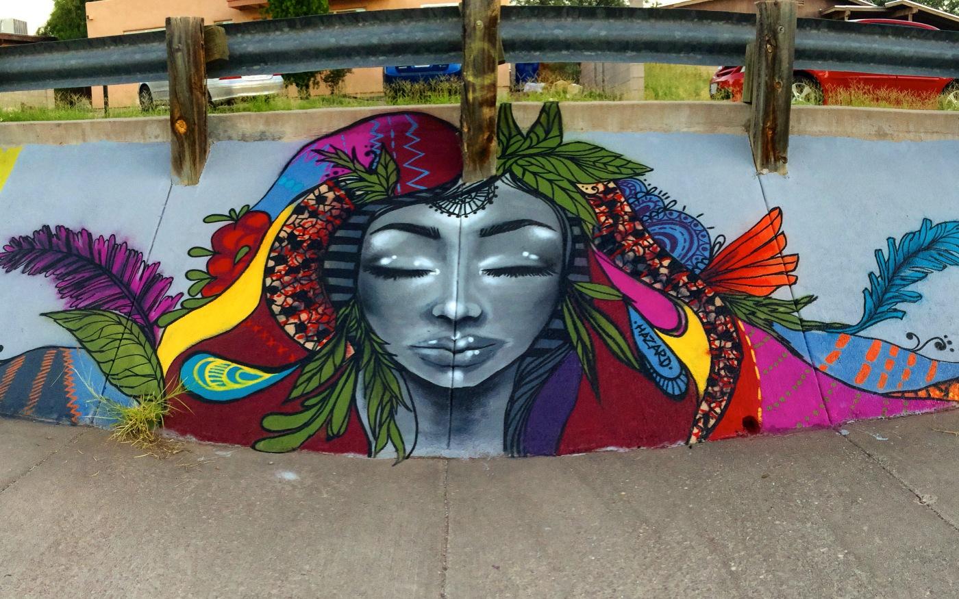 Graffiti art on wood - Interview With Street Artist Harriet Wood Aka Miss Hazard